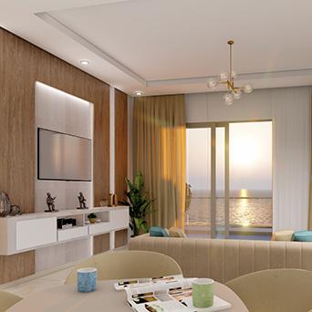 vue intérieur chambre résidence costa