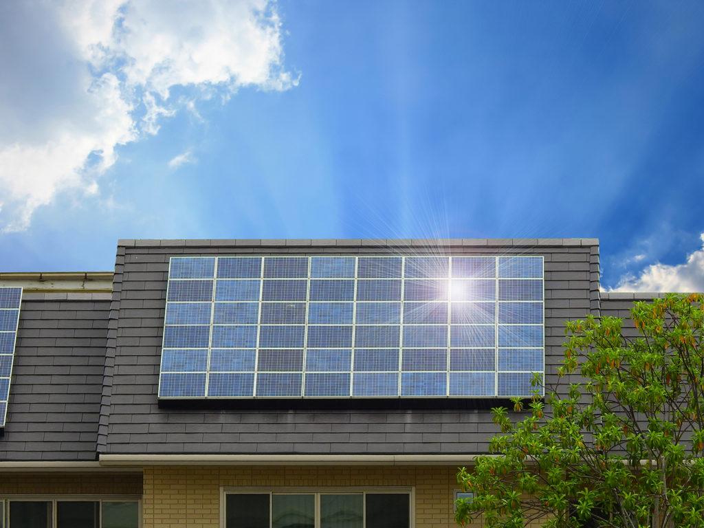 Installation des panneaux solaires thermiques